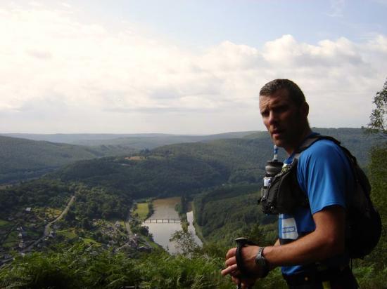 Eric au Ardennes Méga Trail